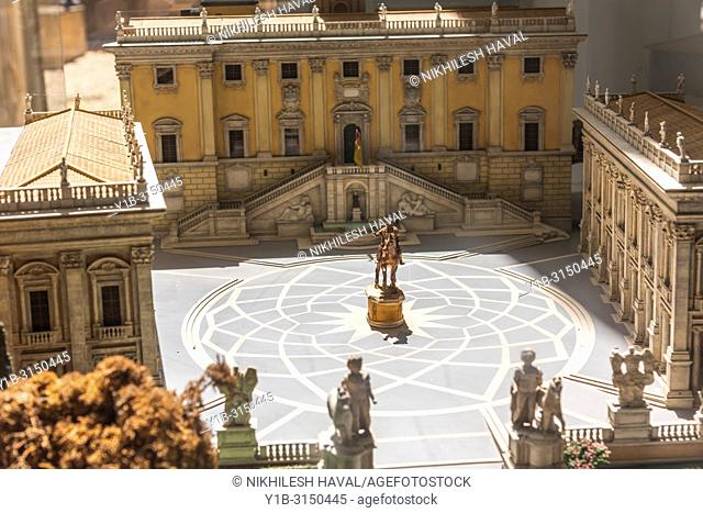 Capitoline Museums Model, Rome, Italy