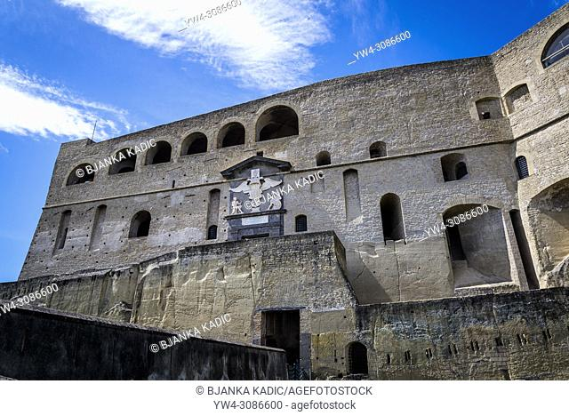 Castel Sant'Elmo medieval fortress, Naples, Italy