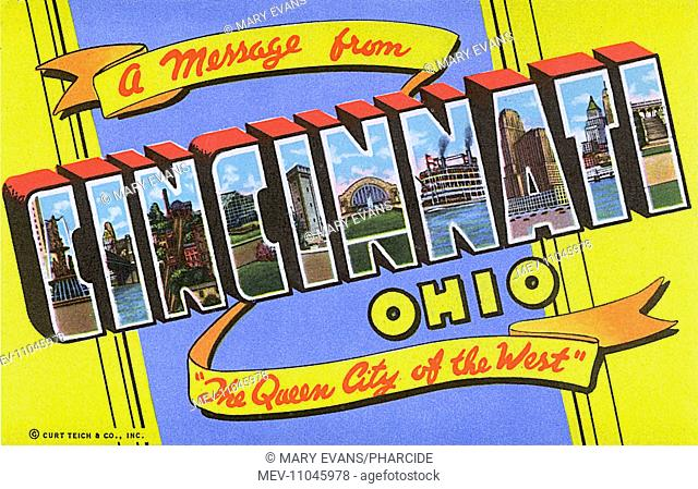 A message from Cincinnati, Ohio, The Queen City of the West