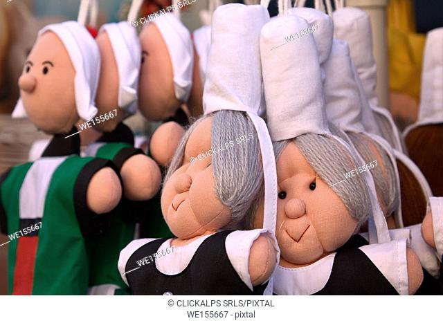 Brittany, France. Brittany dolls