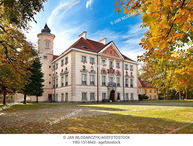 Palace in Otwock village near Warsaw City, Poland, Europe