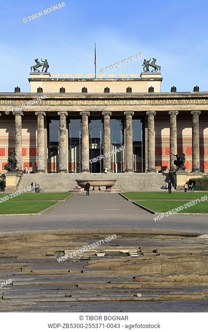 Germany, Berlin, Altes Museum, Old Museum