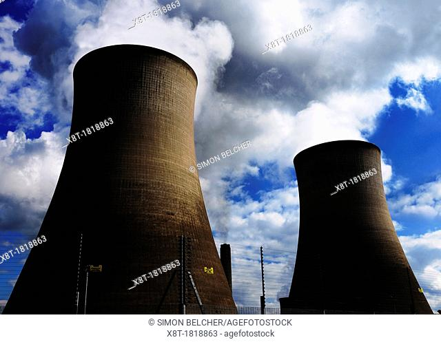Power Station Cooling Towers, Didcot, Oxfordshire, UK