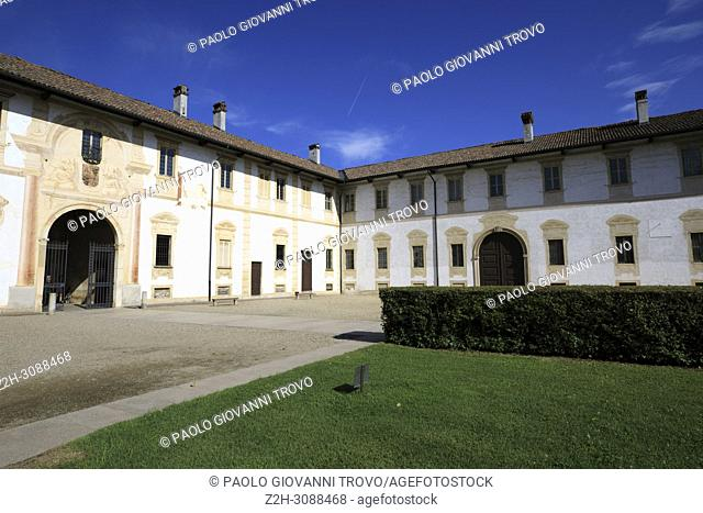 Certosa di Pavia area and Carthusian Monastery, Pavia, Lombardy, Italy