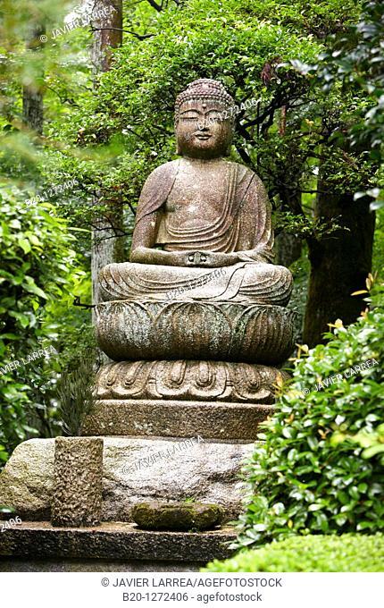 Buddha, Garden, Ryoanji Temple, Kyoto, Japan