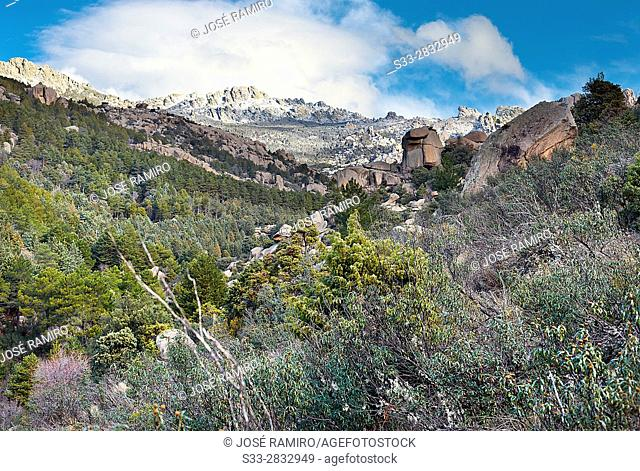Pedriza Posterior. Regional Park del Ato Manzanares. Manzanares el Real. Madrid. Spain. Europe