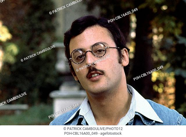 Portrait of French actor Jean Reno in 1977 Photo : Patrick Camboulive. It is forbidden to reproduce the photograph out of context of the promotion of the film
