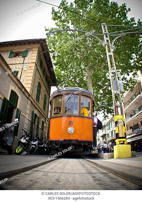Sóller Tramway, Mallorca, Spain