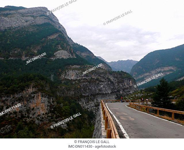Spain, Ordesa valley, Torla