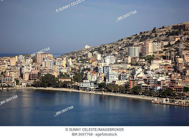 Cityscape of Saranda, Saranda, Vlorë County, Albania