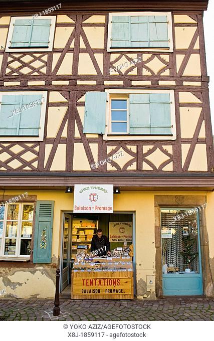 France, Alsace, Colmar, Petit Venice