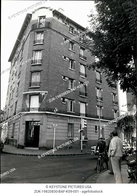 Aug. 30, 1982 - Saturday, several cars were stopped in front of a building in Vincennes. Prouteau's special police force raided the building and arrested two...