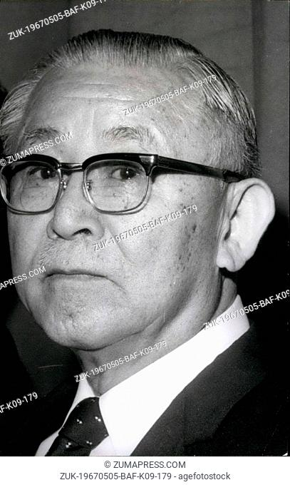 May 05, 1967 - Rotary club to have Japanese Chairman for 68/69/ Members of the famous Rotary club from all over the world held a congress at the Palais Des...