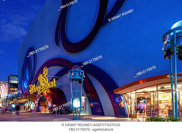 Disney Quest Interactive Theme Park, Downtown Disney, Orlando, Florida, USA