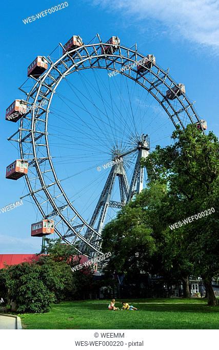 Austria, Vienna, Prater, Viennese giant wheel