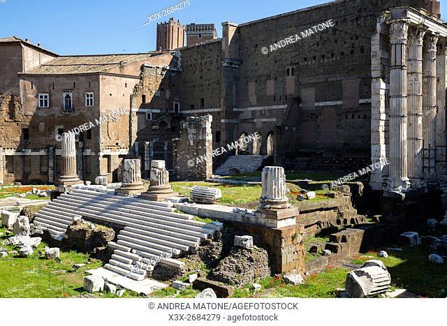 Forum of Augustus. Rome, Italy