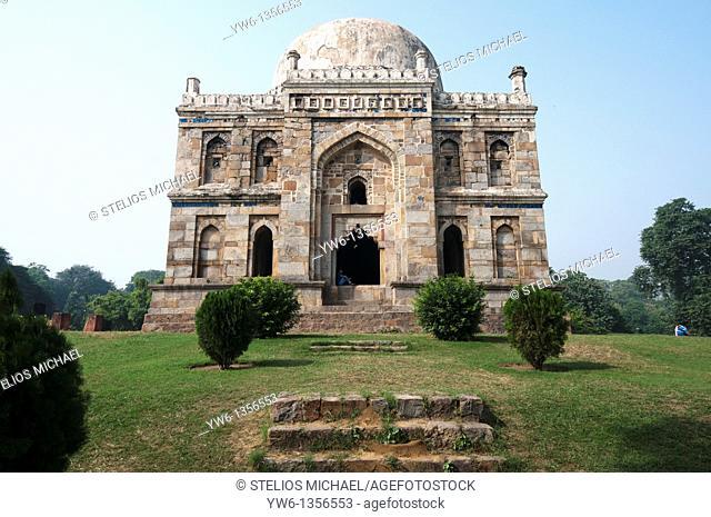 Shish Gumbad in Lodi Gardens, Delhi,India