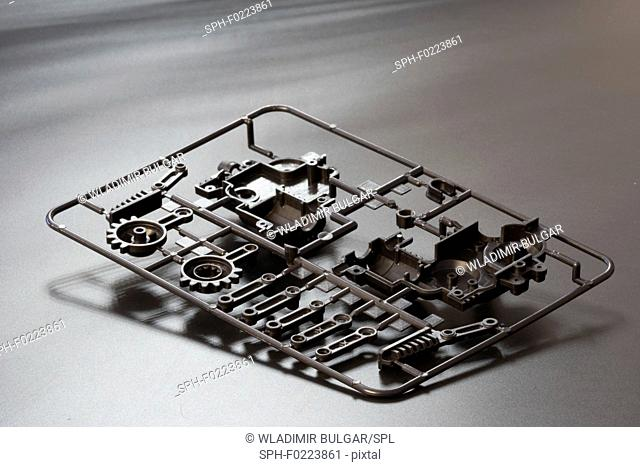 Injection moulding moulds
