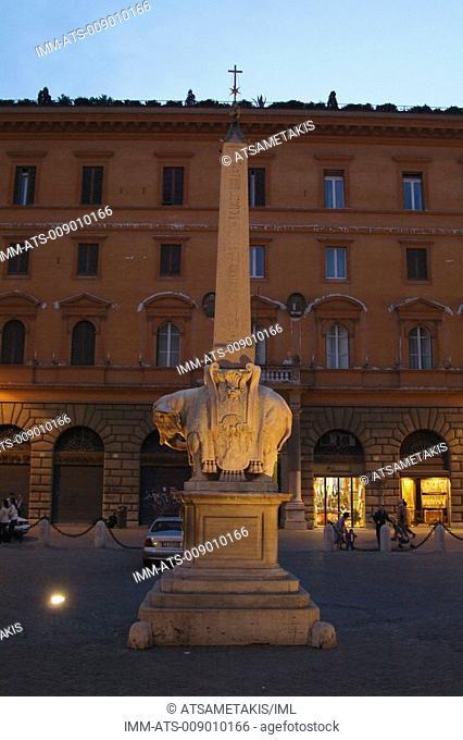 Elephant of Piazza della Minerva, Rome, Italy, Europe