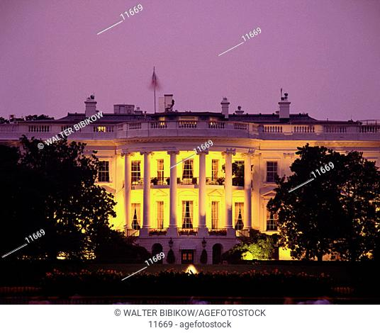 White House. Washington D.C. USA