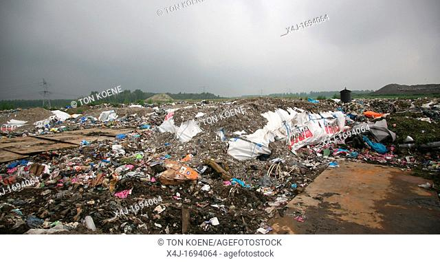 Waste dump in The netherlands All municipalities in The Netherlands are required to provide known collection points for recyclable and/or hazardous materials...
