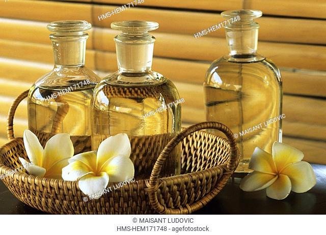 Vietnam, Nha Trang, Evason Hideaway and Spa at Ana Mandara, essential oils