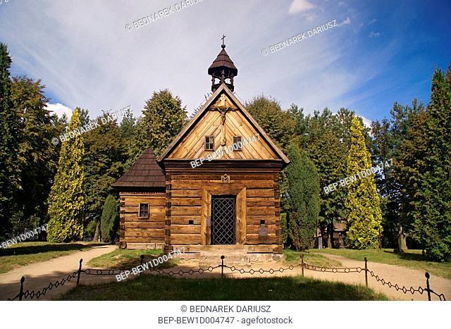 Chapel in Dziekanowice, Greater Poland Voivodeship, Poland
