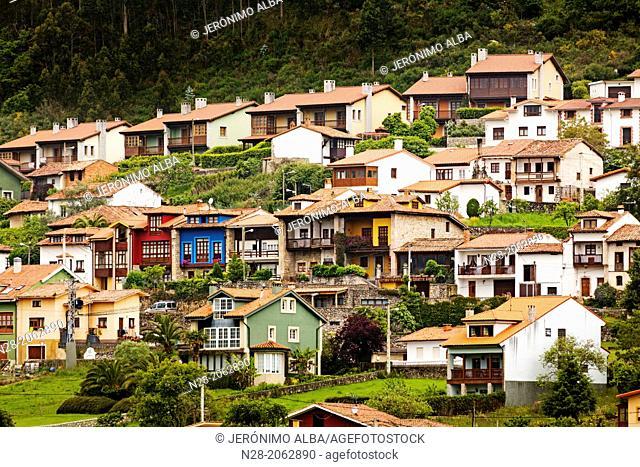 Village of Niembro, Asturias, Spain