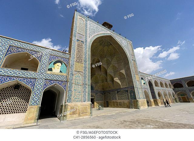 Jameh Mosque. Isfahan. Iran