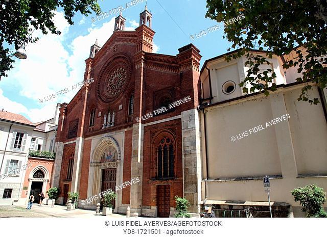 Church of Santa Maria de Gracia, Milano, Italy, Europe