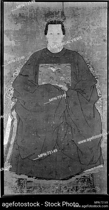 Portrait of a Lady. Artist: Unidentified Artist; Period: Ming dynasty (1368-1644); Date: late 16th-early 17th century; Culture: China; Medium: Hanging scroll;...
