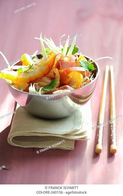 Grisons meat salad