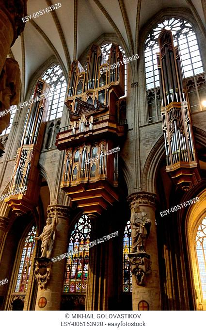 Largest cathedral organ in the world Stock Photos and Images