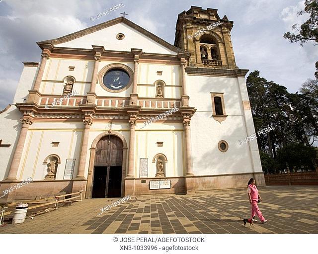 Basilica de Nuestra Señora de la Salud. Patzcuaro. Michoacan state. Mexico