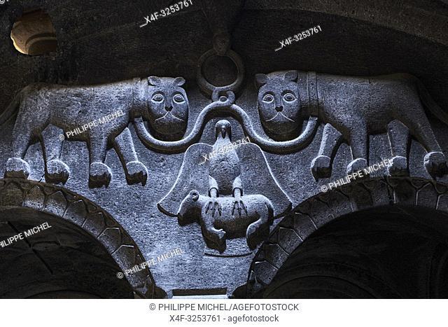 Armenie, province de Kotayk, monastère de Geghard, classé au patrimoine mondial de l'Unesco / Armenia, Kotayk province, Geghard Monastery, UNESCO World Heritage