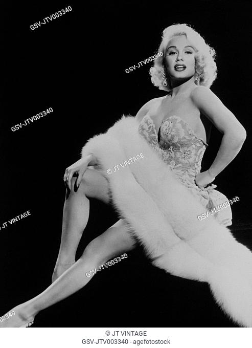 Marilyn Monroe, on-set of the Film, There's No Business Like Show Business, 1954, TM and Copyright (c) 20th Century-Fox Film Corp. All Rights Reserved