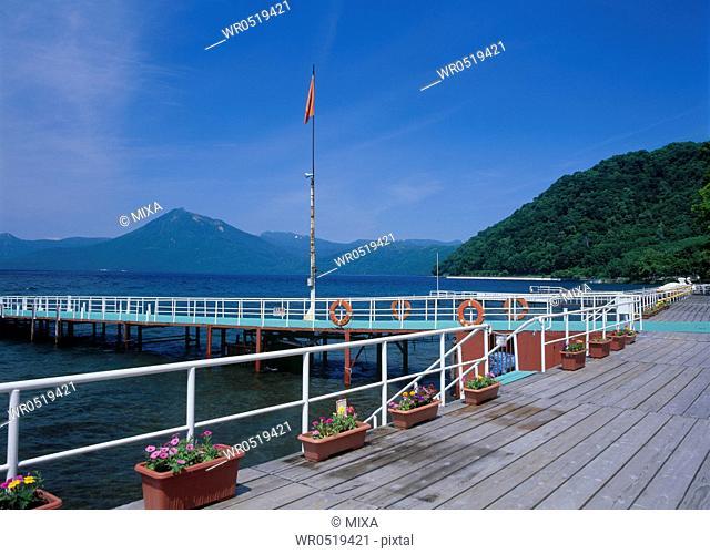 Lake Shikotsu, Chitose, Hokkaido, Japan