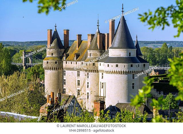 The Castle of Langeais, Indre-et-Loire, Centre region, Loire valley, France, Europe