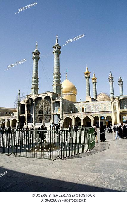 Iran, Qom, Shrine of Fatemeh Masoumeh, Inner Court