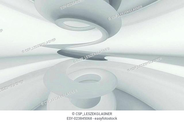 Architecture 3d abstract background
