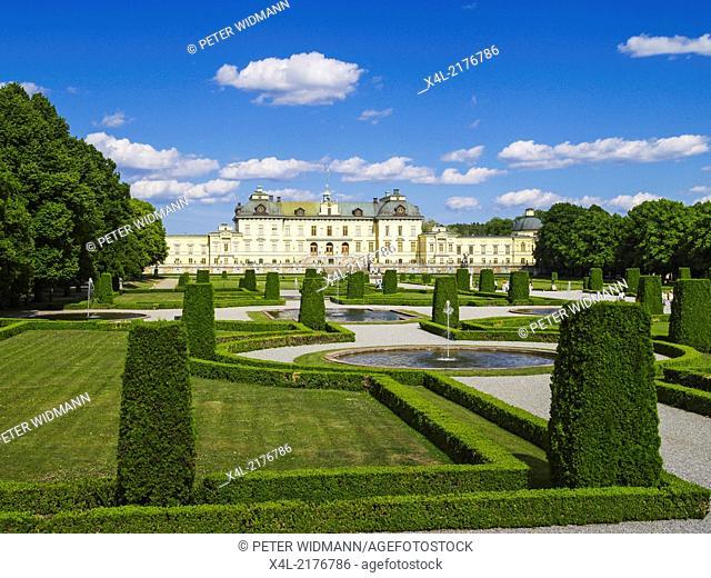 Stockholm, Drottningholm Castle, Sweden, Uppland, Drottningholm