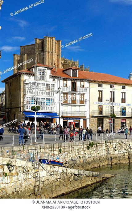 Castro Urdiales, Cantabria, Spain, Europe