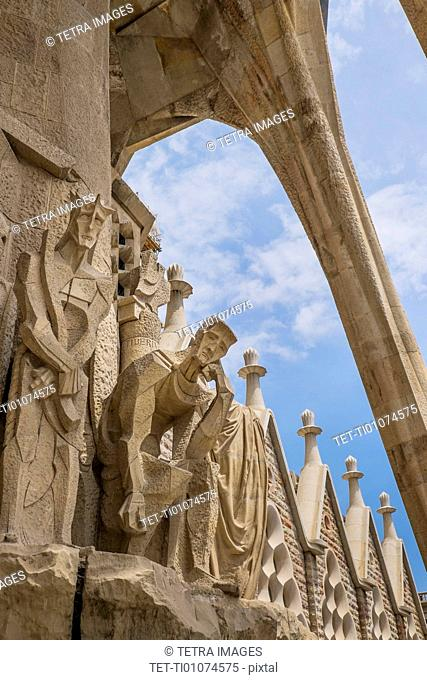 Statues on Sagrada Familia