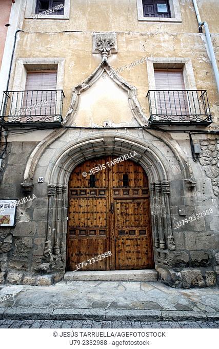Old Palace Pastrana. Pastrana. Guadalajara. Castilla-La Mancha. Spain. Europe