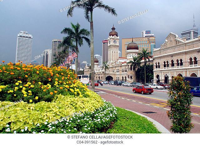 Merdeka Square. Kuala Lumpur. Malaysia
