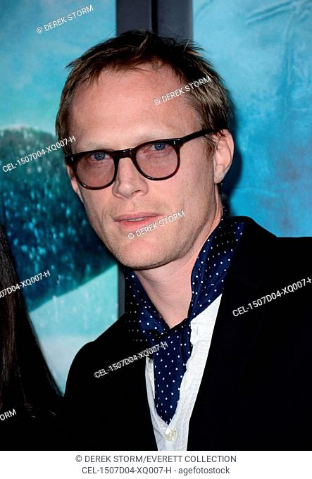 Paul Bettany at arrivals for IN THE HEART OF THE SEA Premiere, Jazz at Lincoln Center's Frederick P. Rose Hall, New York, NY December 7, 2015