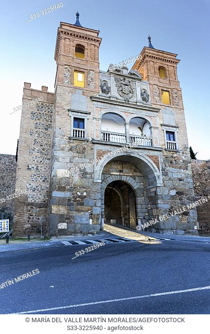 Historical door of Cambron in Toledo. Spain. Europe