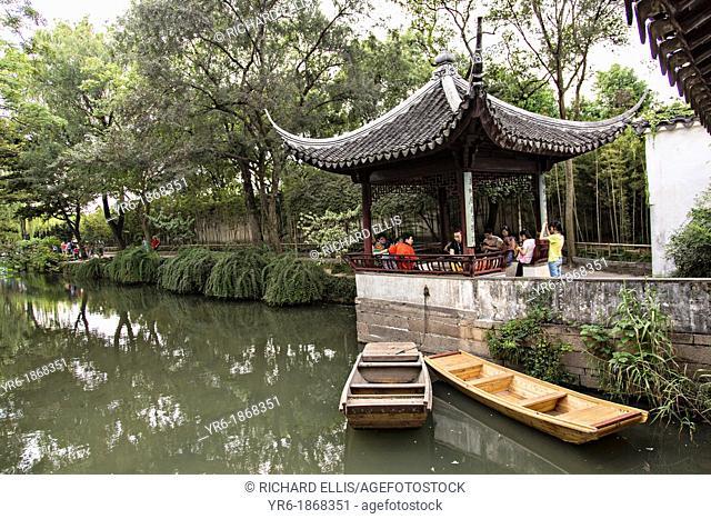 Humble Administrator's garden in Suzhou, China