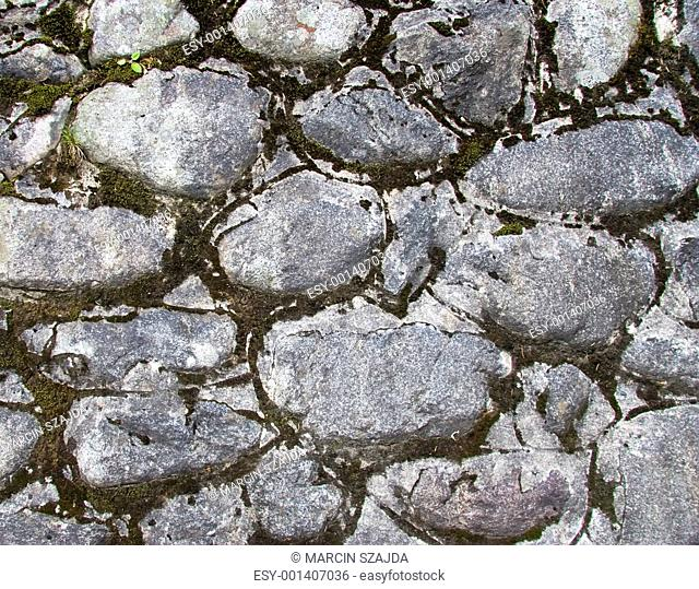 Old stones wall