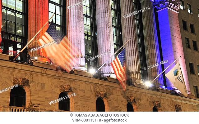 New York Stock Exchange, NYSE, Wall Street, Manhattan, New York City, USA
